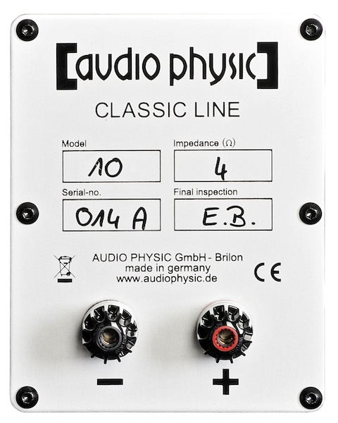 Audio Physic Classic 10 – shifting the posts