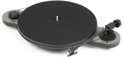 Pro-Ject Elemental turntable_silver