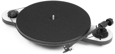 Pro-Ject Elemental turntable_white