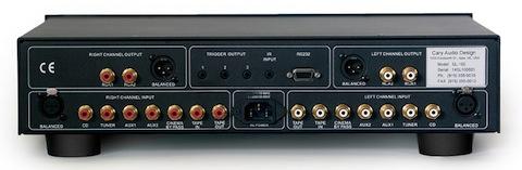 Cary Audio SL-100_rear