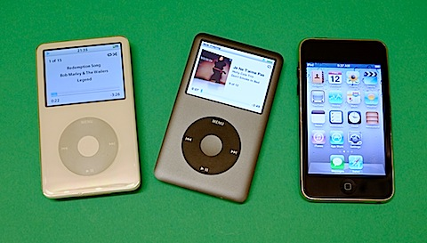 And quietly exits the iPod Classic…