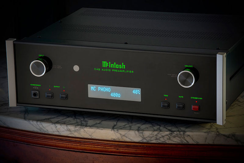 McIntosh's C49 Preamp Won't Grow Old Digitally
