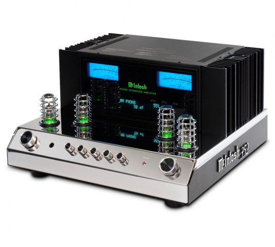 McIntosh's MA352 is a more powerful hybrid amp – audioFi net